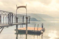 Meer Como - Italië Stock Fotografie