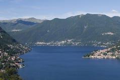 Meer Como Lombardije Italië royalty-vrije stock afbeeldingen