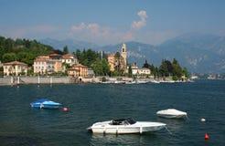 Meer Como in noordelijk Italië stock foto