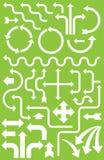 Meer dan 30 Pijlen voor Infographics Royalty-vrije Stock Afbeelding