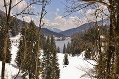 Meer in de Alpen Royalty-vrije Stock Fotografie