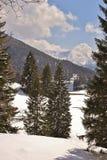 Meer in de Alpen Royalty-vrije Stock Afbeelding