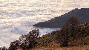 Meer der Wolken stock footage