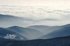 Meer der Wolken Stockfoto