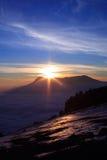 Meer der Wolken Lizenzfreie Stockbilder