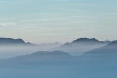 Meer des Berges stockbilder