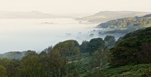 Meer des Nebels Lizenzfreies Stockbild