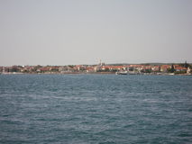 Meer durch Zadar Kroatia Lizenzfreies Stockfoto