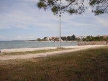 Meer durch Zadar Kroatia Lizenzfreie Stockbilder