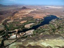 Meer en montains, Nevada Royalty-vrije Stock Afbeeldingen