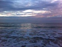 In Meer, es dämmern ` s ein schöner Anblick Lizenzfreies Stockfoto