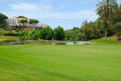 Meer in fairway golf Royalty-vrije Stock Fotografie