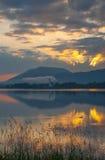 Meer Forggensee, Beieren, Duitsland Royalty-vrije Stock Fotografie