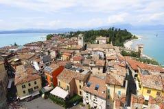 Meer Garda, Italië Stock Foto