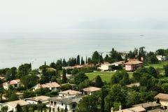 Meer Garda. Italië stock fotografie