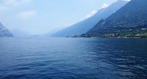 Meer Garda Italië Stock Afbeelding