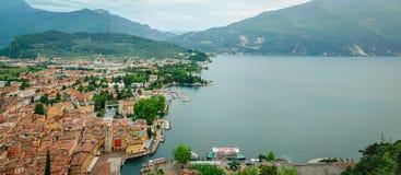 Meer Garda, Riva del Garda stock afbeeldingen