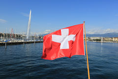 Meer Genève Stock Afbeelding