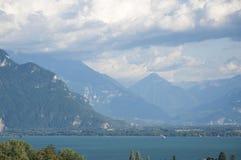Meer Genève in de Zomer Royalty-vrije Stock Afbeeldingen