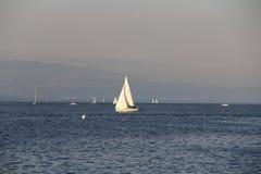 Meer Genève in Genève, Zwitserland Royalty-vrije Stock Foto