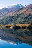 Meer Gutierrez, dichtbij Bariloche, Patagonië Royalty-vrije Stock Afbeelding