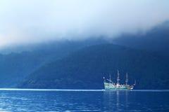 Meer Hakone, Japan Royalty-vrije Stock Foto
