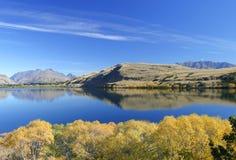 Meer Hayes, Nieuw Zeeland Stock Foto