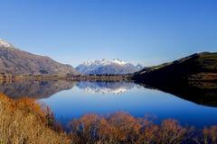 Meer Hayes, Nieuw Zeeland Stock Foto's