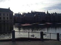 Meer in het centrum van Den Haag Stock Afbeelding