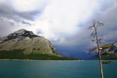 Meer in Kananaskis-Land - Alberta - Canada stock fotografie