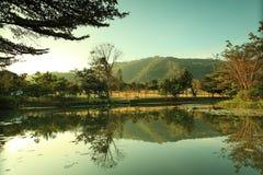 Meer in Kao Yai - Thialand Stock Foto's