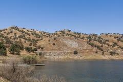 Meer Kaweha, Californië, de V.S. royalty-vrije stock foto