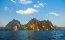 Meer Khao Sok Royalty-vrije Stock Afbeelding