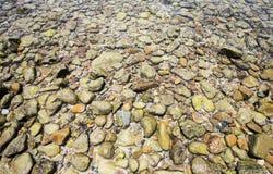 Meer Kleine steen en overzees Royalty-vrije Stock Fotografie