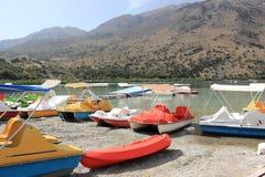 Meer Kournas Kreta, Griekenland Royalty-vrije Stock Afbeelding