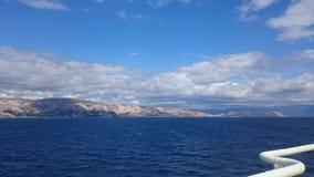 Meer Kroatien lizenzfreie stockbilder
