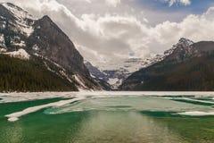 Meer Louise, Alberta, Canada Royalty-vrije Stock Afbeeldingen