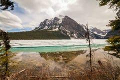 Meer Louise, Alberta, Canada Stock Afbeeldingen