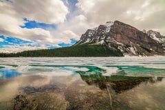 Meer Louise, het Nationale Park van Banff, Alberta, Canada Royalty-vrije Stock Foto's