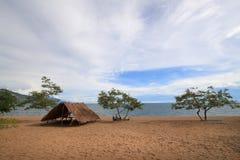 Meer Malawi (Meer Nyasa) Stock Foto's