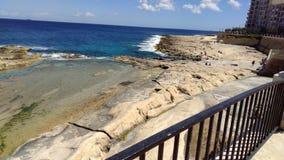 Meer Malta Lizenzfreie Stockfotografie