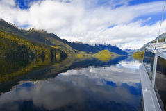 Meer Manapouri Royalty-vrije Stock Afbeelding