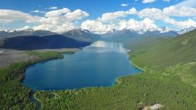 Meer McDonald, het Nationale Park van de Gletsjer Stock Afbeeldingen