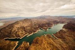 Meer Mead Hoover Dam royalty-vrije stock fotografie