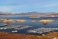 Meer Meade van Nevada dichtbij Dam Hoover Stock Afbeelding