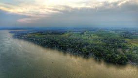 Meer Mendota Wisconsin Royalty-vrije Stock Foto
