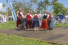 Meer met een waarde van, Florida, de V.S. die 3 Maart, het Festival van de de Middernachtzon van 2019 Finse Cultuur vieren royalty-vrije stock afbeeldingen