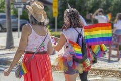 Meer met een waarde van, Florida, de V.S. 31 Maart, voordien 2019, Palm Beach Pride Parade stock foto's