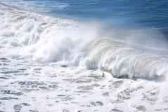 Meer mit Wellen Stockfotografie