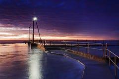 Meer Mona Vale Pool Blue Rise Stockbild